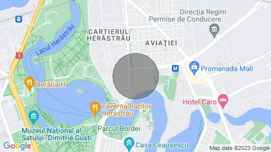 Herastrau 5 - 2 bedroom apartment near park Map