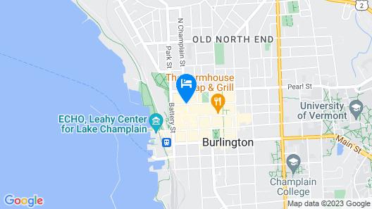 Hotel Vermont Map