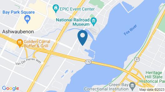 Residence Inn by Marriott Green Bay Downtown Map