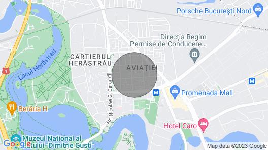 Herastrau 1 - 3 Bedroom Apartment Map