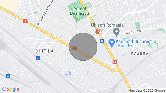 Villa Nova Bucharest Map