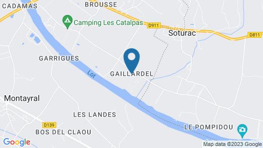 Domaine Le Mathi Map