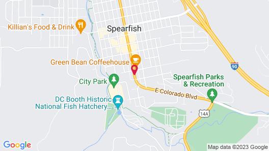 Bell's Motor Lodge Motel Map