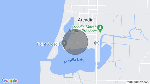 Arcadia's Best Family and Golf Destination! Map