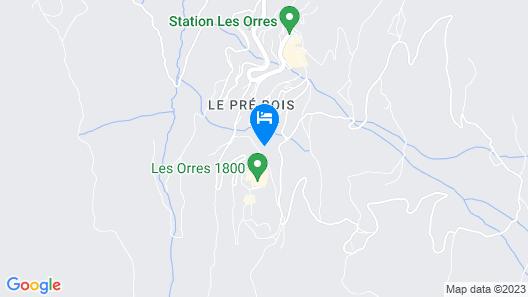 Alpin D'Hôme Map