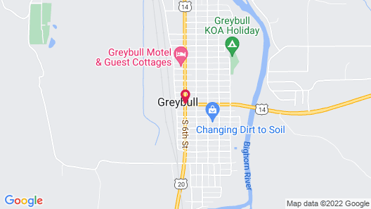 Historic Hotel Greybull Map
