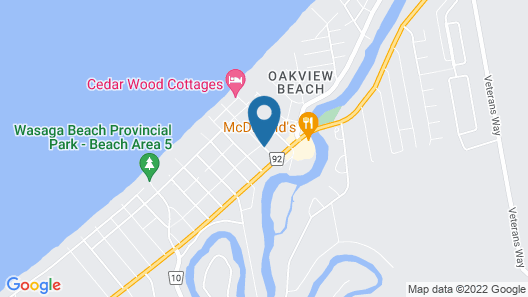 Birch Haven by the Beach - Cottages Map