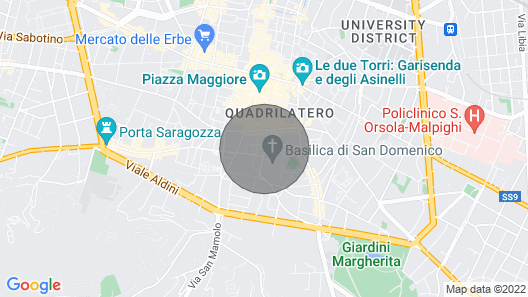 Beautiful Flat Right in the Heart of Bologna Map