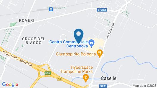 NH Bologna Villanova Map