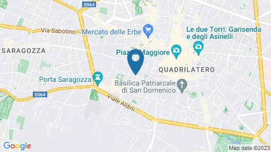 Saragozza Comfort Apartment Map