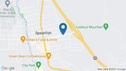Best Western Black Hills Lodge Map