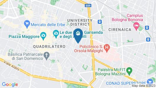 Residenza Begatto Map