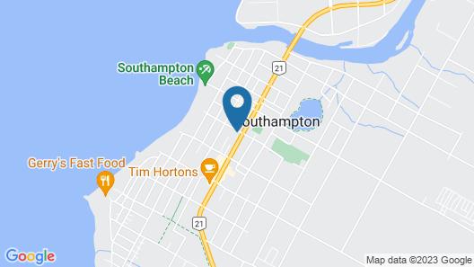 Manor Motel Map