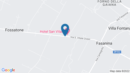 Hotel San Vitale Map
