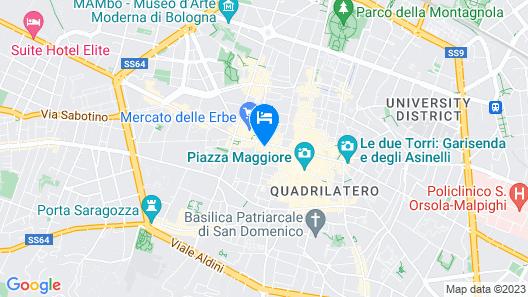 Albergo Panorama Map