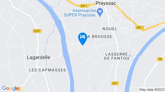Terres de France - Domaine de Claire Rive Map
