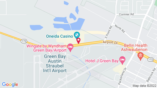Radisson Conference Center Green Bay Map