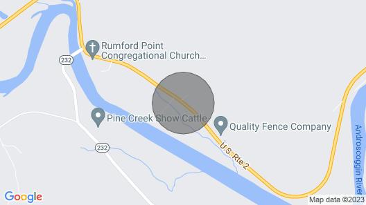 White Pines Cabin, Summer and fall fun,Hike,bike,swim,golf,tube and more Map