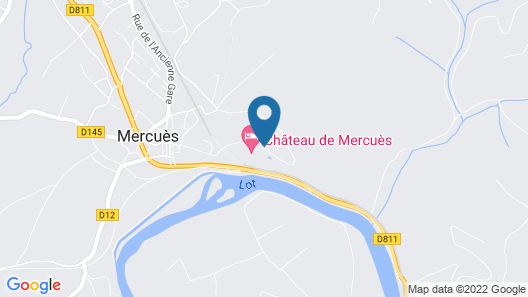 Château de Mercuès Map