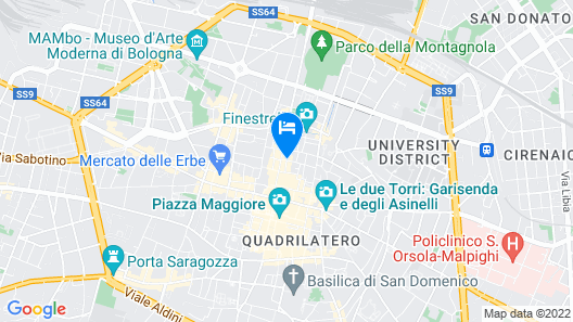Hotel Cavour Map