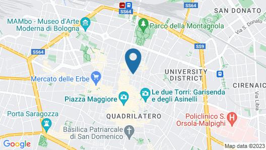 Residenza Ariosto Map
