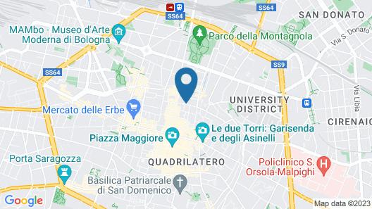 Residenza Ariosto Depandance Map