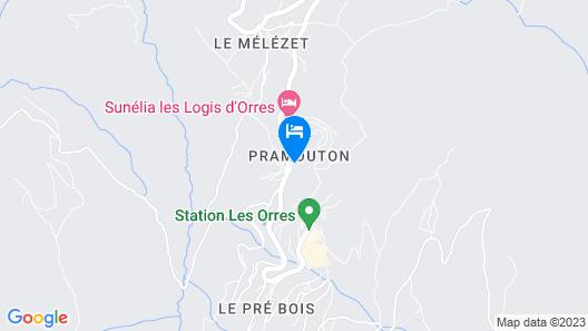 Hotel la Portette Map