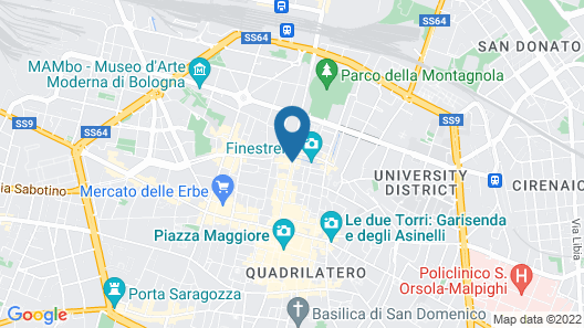 Il Canale Hotel Map