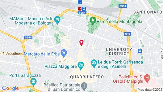 Hotel Metropolitan Map