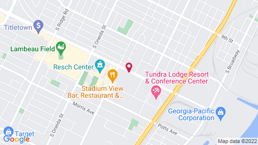 Hilton Garden Inn Green Bay Map