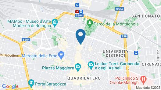 Indipendenza Retreats Map