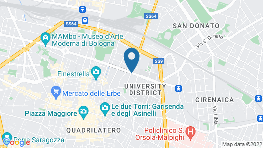 Dopa Hostel Map