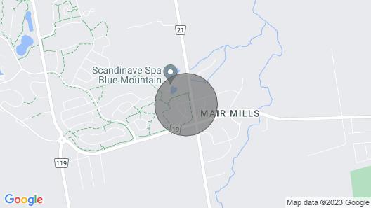 Blue Mountain @ Windfall 3-bedroom Luxury Condominium Map