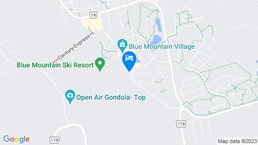Westin Trillium House, Blue Mountain Map