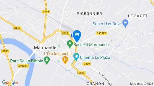hôtel la couronne Map