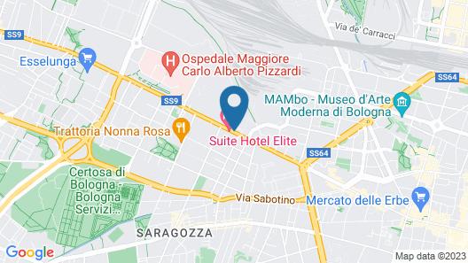 Grand Hotel Elite Map