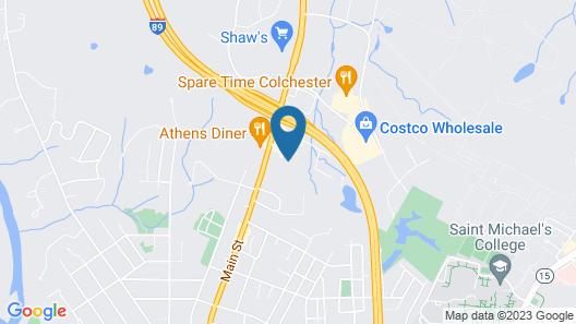 Motel 6 Colchester, VT - Burlington Map