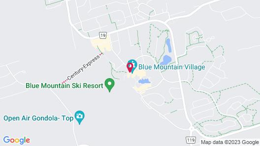 Blue Mountain Resort Village Suites Map