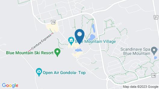 Blue Mountain Resort Mosaic Suites Map