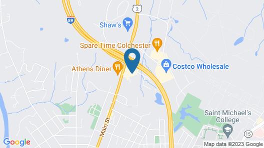 Quality Inn Colchester - Burlington Map