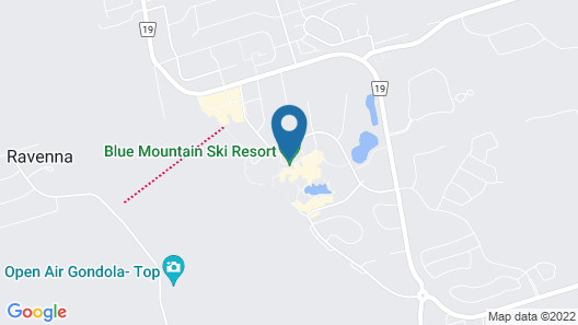 Blue Mountain Resort Home Collection Map