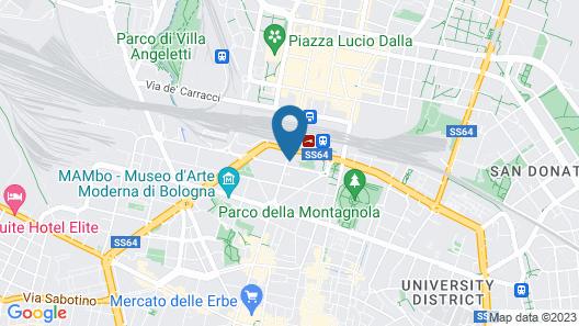 La Camera Bologna Stazione Affittaly Map