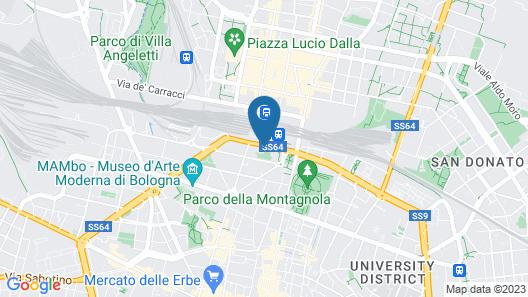 Starhotels Excelsior Map