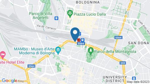 UNAHOTELS Bologna Centro Map