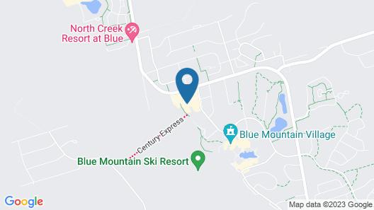 Blue Mountain Resort Inn Map