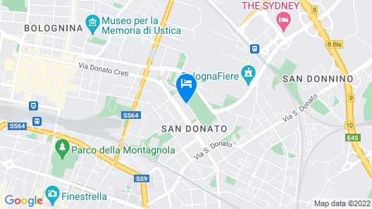 Bologna Fiera Guest House Map