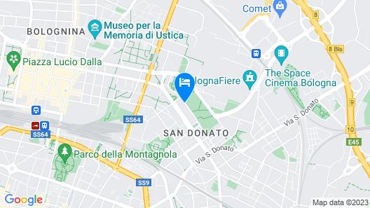 Casa Temporanea Map