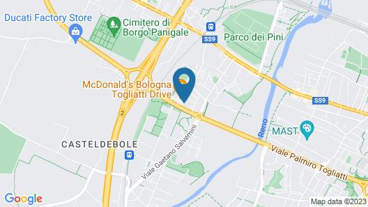 CDH My One Hotel Bologna Map