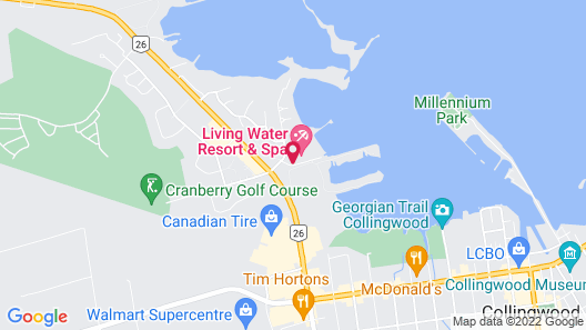 Living Water Resort and Spa Map