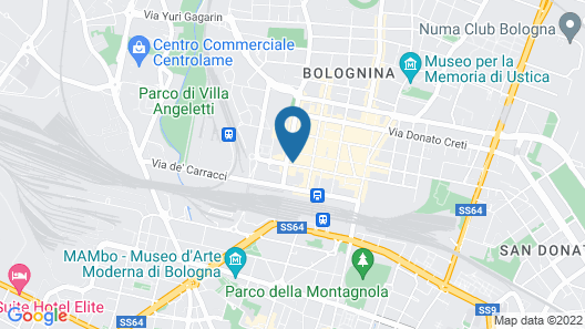 The Student Hotel Bologna Map